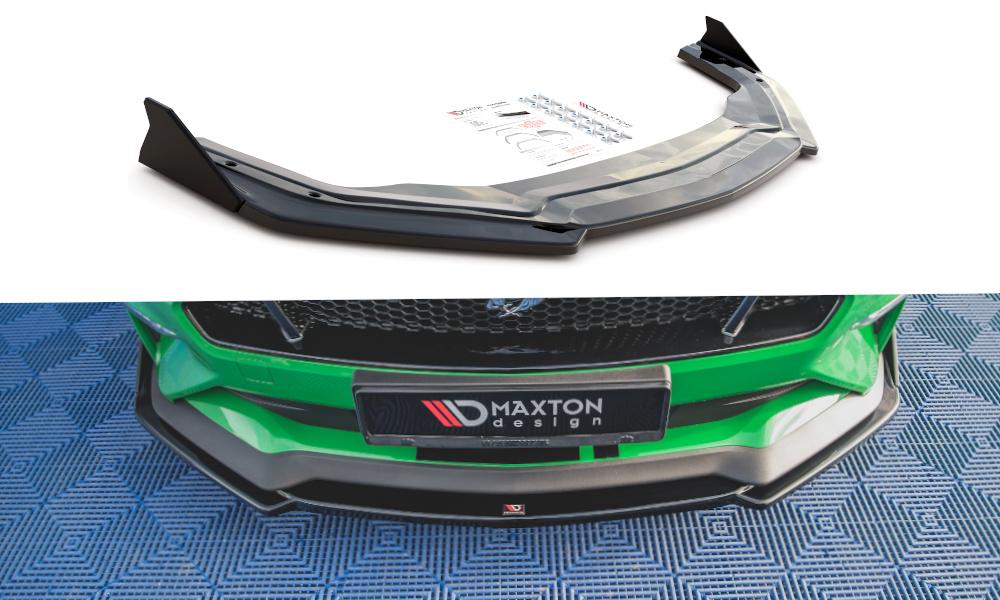 SPLITTER PRZEDNI+FLAPS V.2 FORD MUSTANG GT MK6 FACELIFT - GRUBYGARAGE - Sklep Tuningowy